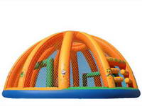 Inflatable Penalty Shootout Challenger Trampoline Bouncer