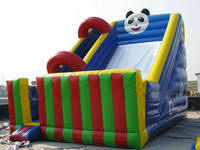 Customized Inflatable Panda Theme Slide