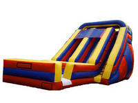 Double Bay Inflatable Slide
