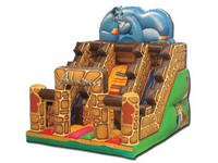 Inflatable Aladdin And Oil Lamp Theme Slide