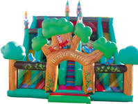 New Design Bosque Secreto Inflatable Slide Italy