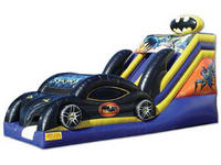 Indoor Inflatable Bat Car Slide In Batman Theme