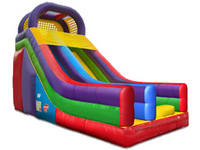 5.5m High Inflatable Wacky Deluxe Multi Color Slide