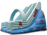 Giant Inflatable Water Slide With Arch For Sale