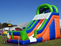 Single Lane Inflatable Water Slide
