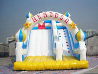 Customized Inflatable Water Slide With Arch