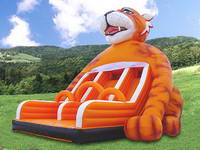 Inflatable Tiger Slide