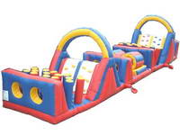 The Omega Obstacle Course Inflatable Adventure