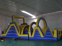 Inflatable Obstacle Course Race for Outdoor Activity
