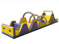 Holiday Crazy Play Inflatable Obstacle Course