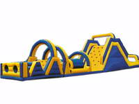 Inflatable Adrenaline Rush Obstacle Course Race