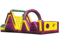 Rushing Race Inflatable Obstacle Course for Rental