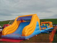 The Longer Inflatable Obstacle Course for Sale
