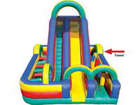 Outdoor Challenge Inflatable Obstacle Course Sport Games