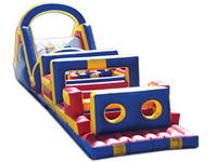 65 Foot Inflatable Obstacle Course for Cheap Sale