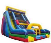 Giant Vertical Rush Inflatable Obstacle Course for Sale