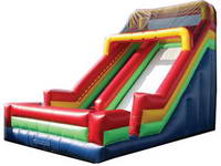 24ft Inflatable Dry Slide For Event And Carnivals