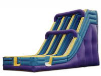 26ft Inflatable Double Lanes Slide