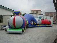 Chuggy Chuggy Choo Choo Inflatable Adventure Tunnel