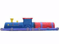 New Design Inflatable Train Tunnel for entertainment