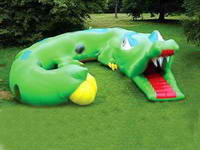 Outdoor Inflatable Crocodile Tunnel