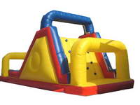 Inflatable Climber Ramp And Slide Game