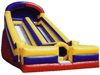 24ft Standard Inflatable Dual Lane Slide