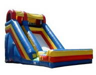 Commercial Inflatable Single Lane Dry Slide