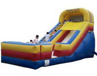Standard Inflatable Single Lane Climb And Slide Game