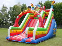 21ft Inflatable Western Wild Theme Slide