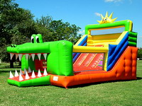 Alligator Combo Bounce House And Slide Combination