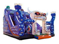 Inflatable Terrible Monster Slide