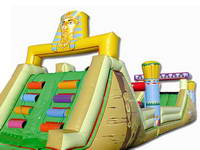 Inflatable Multi Function Slide In Egypt Styles