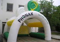 Phonak Hearing System Inflatable Display Tent for Sales Promotions