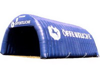 Dark Blue Giant Inflatable Stucture Tent for Events