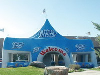 Chips Ahoy Inflatable Structure Building for Sales Promotions