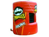 Original Flavor Pringles Advertising Inflatable Stall for Sales Promotions