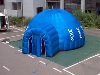 AEX System Advertising Inflatable Dome Tent with Tunnel