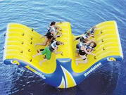 Great Fun Revolution Floating Inflatable Rocker and Slide
