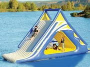 Aqua Summit Express 15ft High Inflatable Water Park Slide
