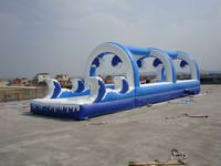 Double Lanes Slip n Slide Inflatable Wave Water Slide