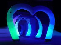 Brand LED Lights Event Decoration Inflatable Lighting Arch