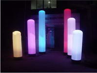 Event Decoration LED Inflatable Lighting Column for Sale