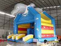 Inflatable Dolphin Jumping Castle
