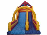 Inflatable Spiderman Water Slide With Arch