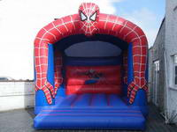 Spiderman Inflatable Jumper Castle