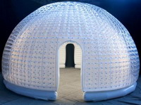 Custom Made Double Layers Inflatable Bubble Room