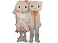 Good Quality Hello Kitty Mascot Costume for Carnival
