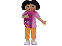 Holiday Use Dora the Explore Disney Mascot Costume for Sale