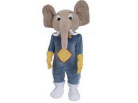 Attractive Elephant Dumbo Disney Mascot Costume for Sale